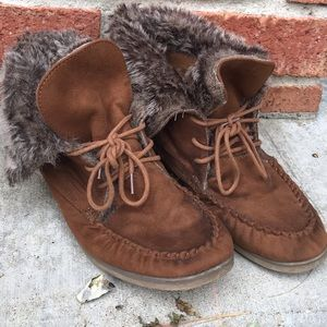 Call It Spring Shoes - Moccasin-style booties